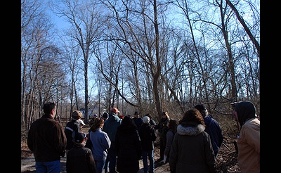 The Great Backyard Bird Count Walk at the William Floyd Estate