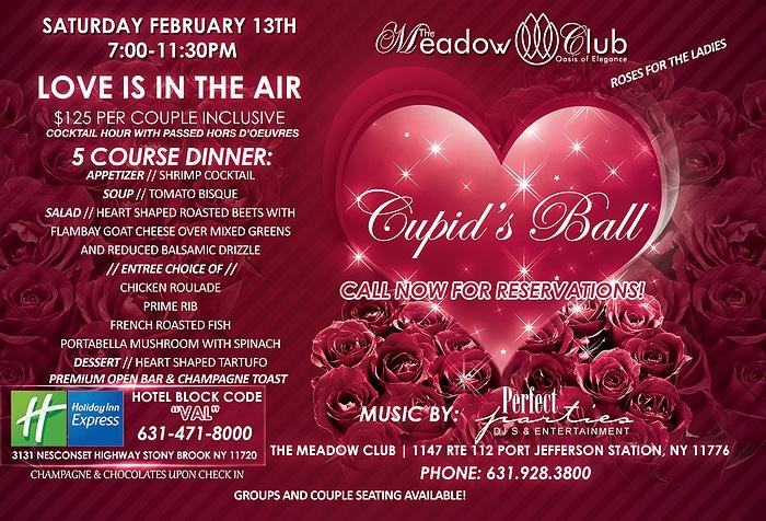 Valentines Dinner Dance Long Island