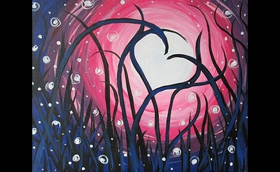 Paint Nite: Midnight Love Fest