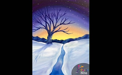 Paint Nite: Winter Sunset