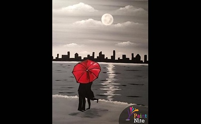 Paint Nite: Love Under Cover