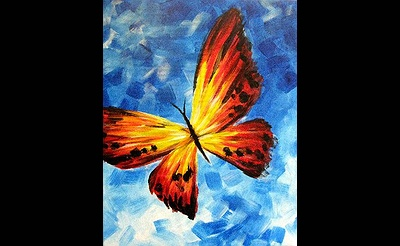 Paint Nite: Butterfly 3