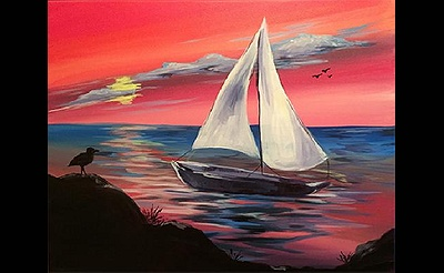 Paint Nite: Paradise Cove