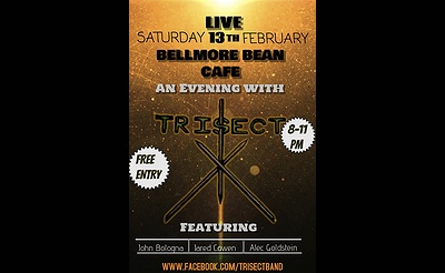 Trisect LIVE at Bellmore Bean Cafe