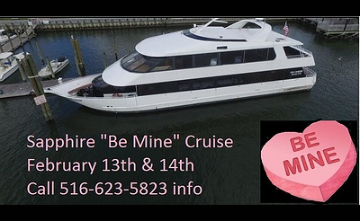 LI Valentine's Day Dinner Cruise Aboard the Sapphire Princess