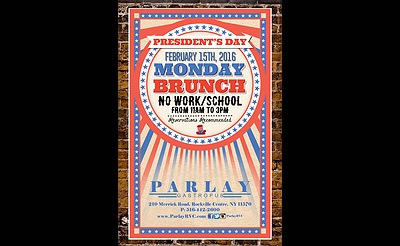 President's Day Brunch at Parlay
