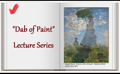 """Dab of Paint"" Lecture Series at The Art League of Long Island"