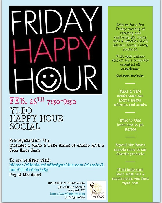 Young Living Essential Oils Happy Hour