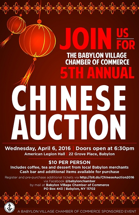 Babylon Village Chamber of Commerce's 5th Annual Chinese ...