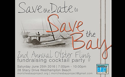 2nd Annual Save The Bay Oyster Fling