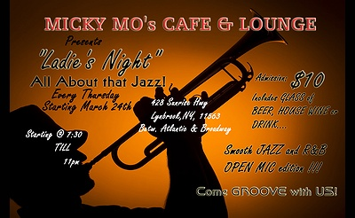 "All That Jazz ""Ladies Nite"" Open Mic"