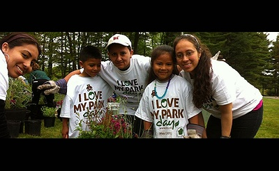 I Love My Park Day 2016 at Nissequogue River State Park