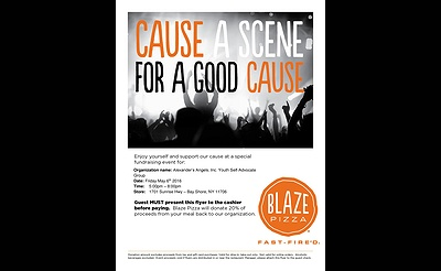 Cause a Scene for a Good Cause
