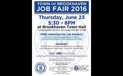 Town of Brookhaven Job Fair 2016