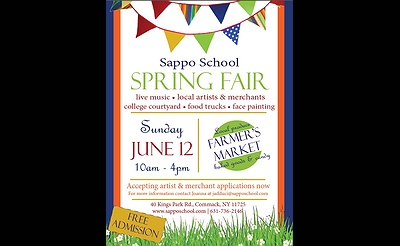 Craft Fair & Farmer's Market at Sappo School