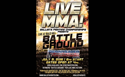 Battle Ground - Live MMA at Pennysaver Amphitheater