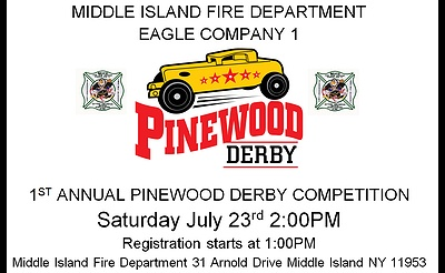 Pinewood Derby Competition