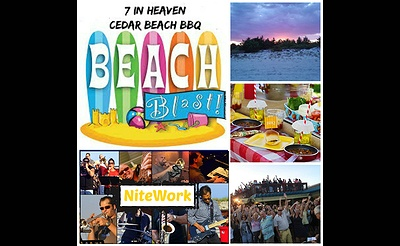 Beach Blast BBQ at Cedar Beach Hut