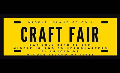 Middle Island FD's Kids Crafts