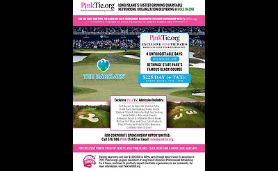 The PinkTie Patio Experience At The Barclays Golf Tournament August 25th-28th