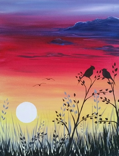 Limos For Sale >> Paint Nite: The Lovebirds