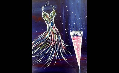 Paint Nite: Fashionably Late