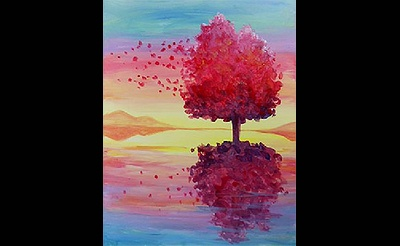 Paint Nite: Reflection On The Wind