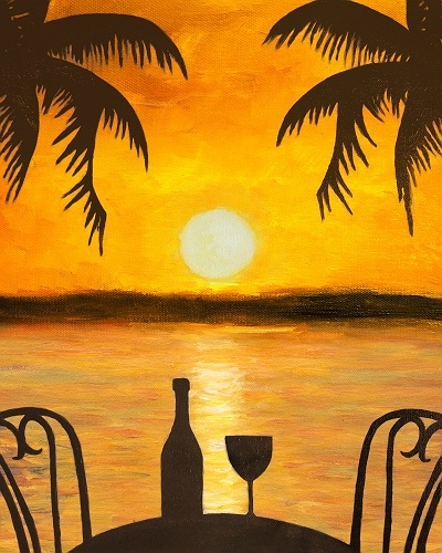 Paint nite reservations in paradise for Paint and wine temecula
