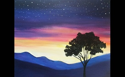 Paint Nite: Stars Come Up