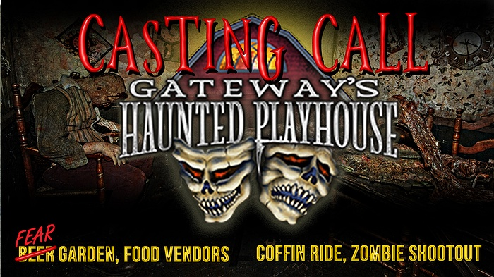 Auditions - Gateway's Haunted Playhouse
