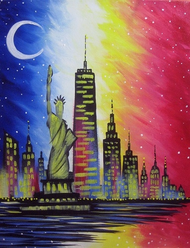 paint nite new york city cruise iii