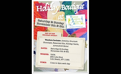 Holiday Boutique at Theresa Academy of Performing Arts