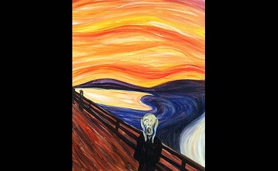 Paint The Town: The Scream