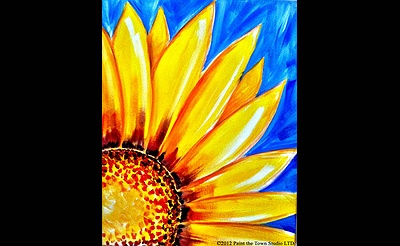 Paint The Town: Sunflower