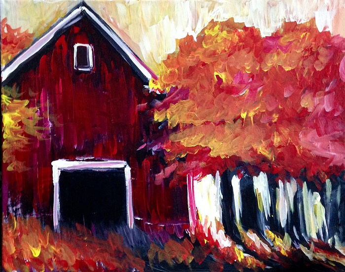 Old Barns On Long Island
