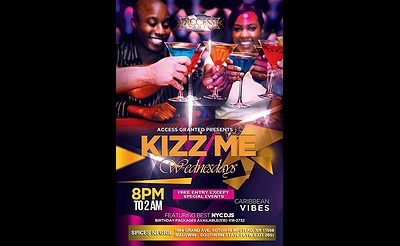 Kizz Me Wednesdays Caribbean Vive WEDNESDAYS CARIBBEAN VIBE