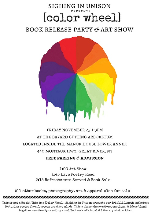 Color Wheel\' Book Release Party & Art Show