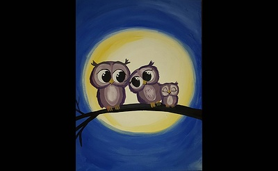 Paint Nite: Owl Eyes On You