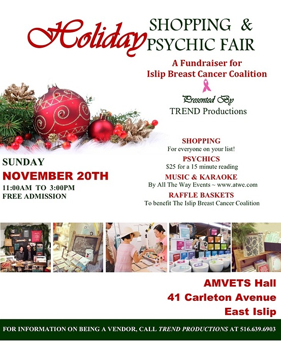 Psychic Events Long Island