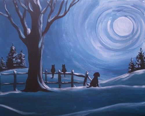 Used Cars Dealers >> Paint Nite: Winter Solstice