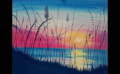 Paint Nite: Sunrise Seaside