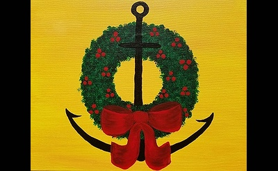 Paint Nite: Holiday The Nautical Way