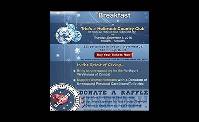 Annual Holiday Breakfast and Toy Drive