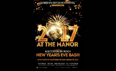 New Year's Eve 2017 At Mediterranean Manor