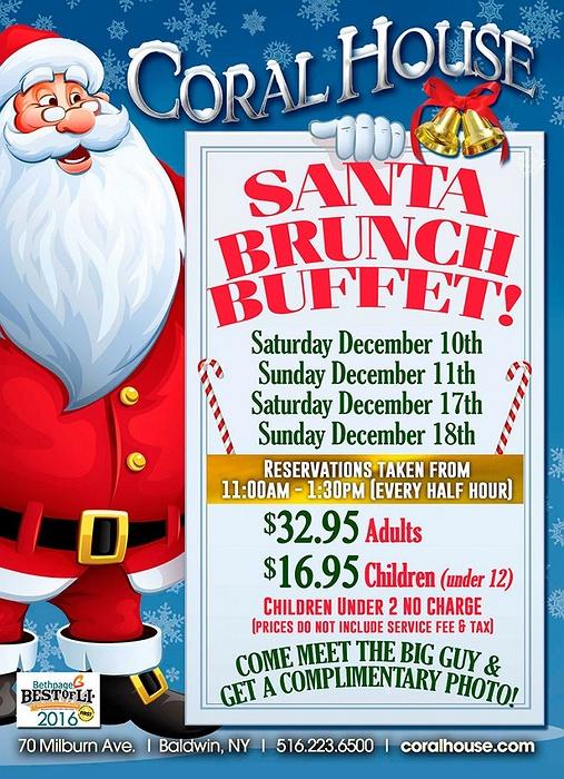 Santa Brunch Long Island