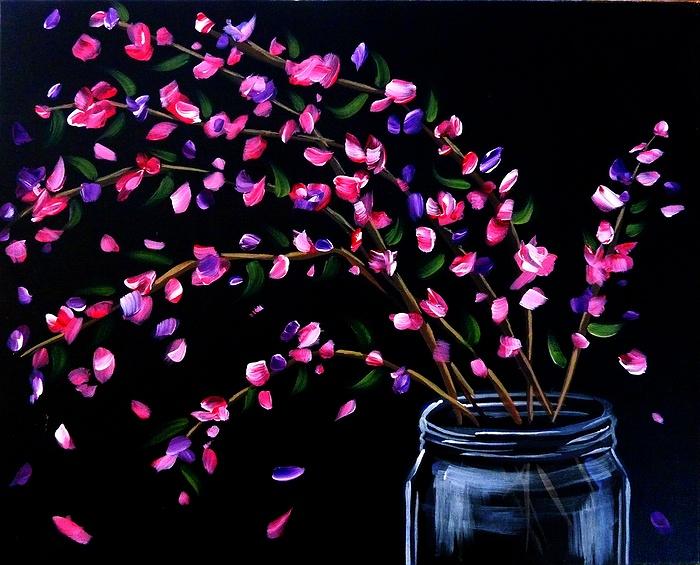 Paint Nite Homemade Bouquet