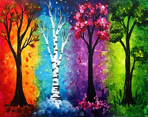 Easy Paint Nite Ideas