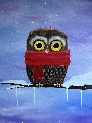 How To Paint An Owl On Canvas