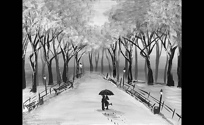 Paint Nite: S'no Place Like Central Park