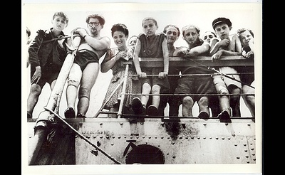 Jewish Refugees in Cyprus En Route to Israel Photo Exhibit